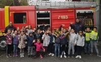 Другаци у посети ватрогасној јединици